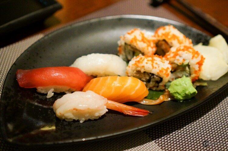 寿司和寿司卷