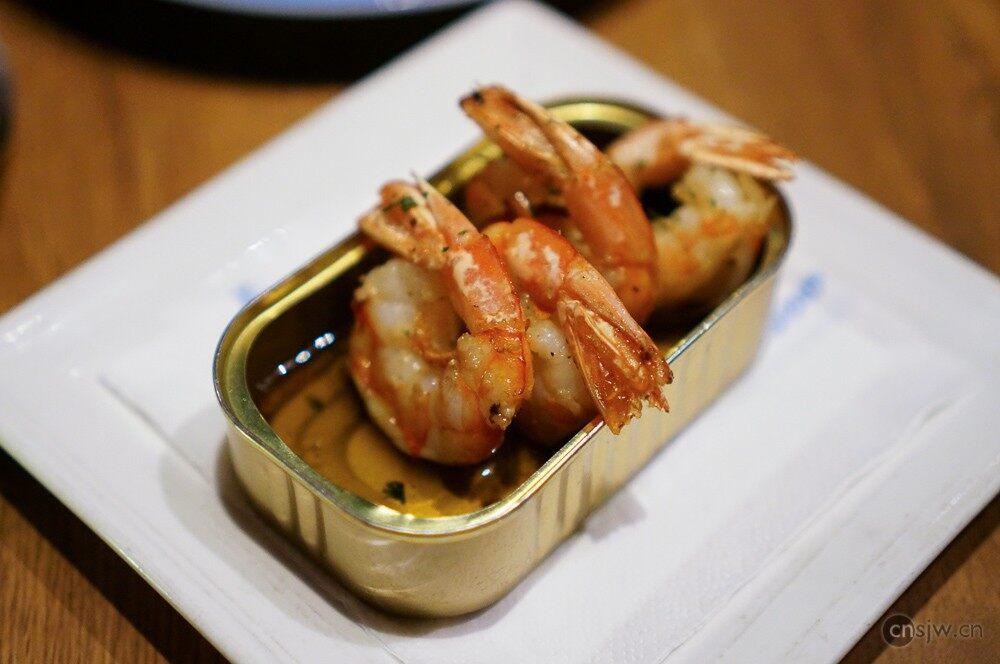 蒜香辣味橄榄油煎大虾