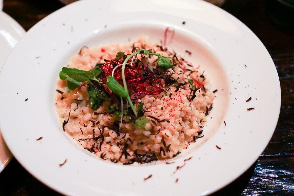 黑松露龙虾炖饭